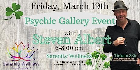Steven Albert: Psychic Gallery Event - Serenity Wellness tickets