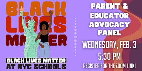Parent and Educator Advocacy Panel tickets