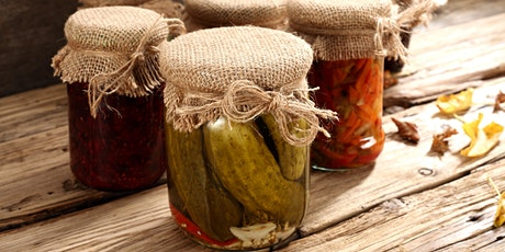 HARVEST DAY OUT: TALK: Preserve your Harvest tickets