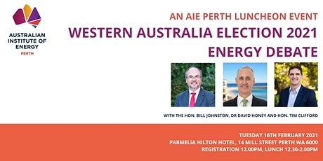 Western Australia Election 2021 – Energy Debate tickets