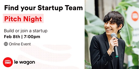Find Your Startup Team in Japan: Pitch Night tickets
