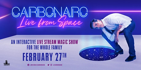 CARBONARO: Live from Space (February 27th) tickets