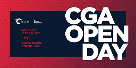 Crimson Global Academy NZ Open Day 2021 tickets