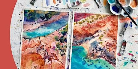 Winsor & Newton Professional Watercolour Landscapes - Eckersley's Phillip tickets