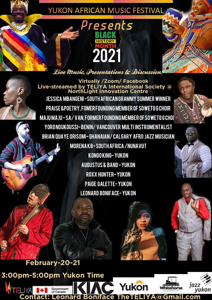 Yukon African Music Festival - Black History Month image