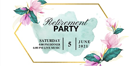Retirement: Catherine Diaz-Khansefid, Regina Gandour-Edwards, John Bishop tickets