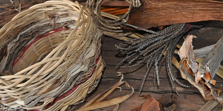 Basket making with Cane & Natural Fibres  with Cindy Wood tickets