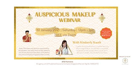 Auspicious Makeup Webinar tickets