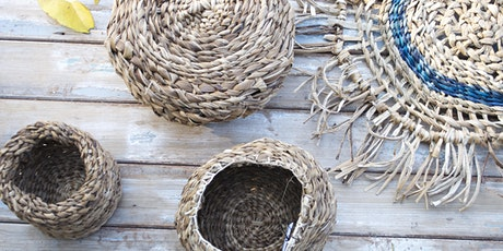 Make a twine basket with banana fibres with Cindy Wood tickets