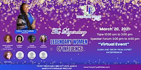 Legendary Women of Influence Business Forum tickets