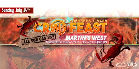 Absolute Crab Feast 2K22 tickets