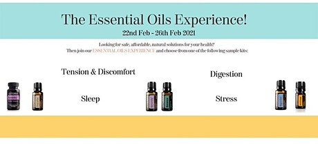 Essential Oils Experience tickets