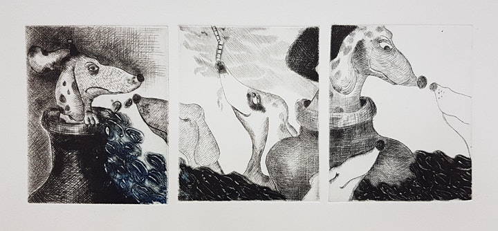 The Art Of Print-Making starts  April 9  (8 sessions) image