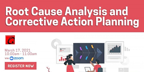Root Cause Analysis and Corrective Action Planning tickets