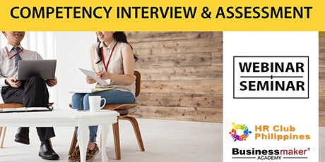 Live Webinar: Competency-Based Interview & Assessment tickets