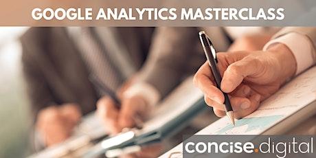 Google Analytics Masterclass | Concise Workshop 2021 tickets