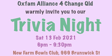 A Magnificent Oxfam Trivia Night - With Love tickets