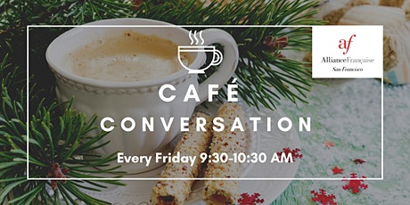 """Online """"Café'Conversation"""" billets"""