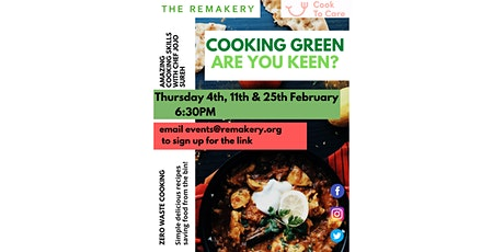 Cooking Green? Are you keen? tickets