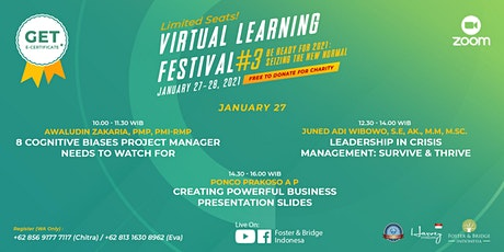 Virtual Learning Festival - Be Ready for 2021: Seizing The New Normal tickets
