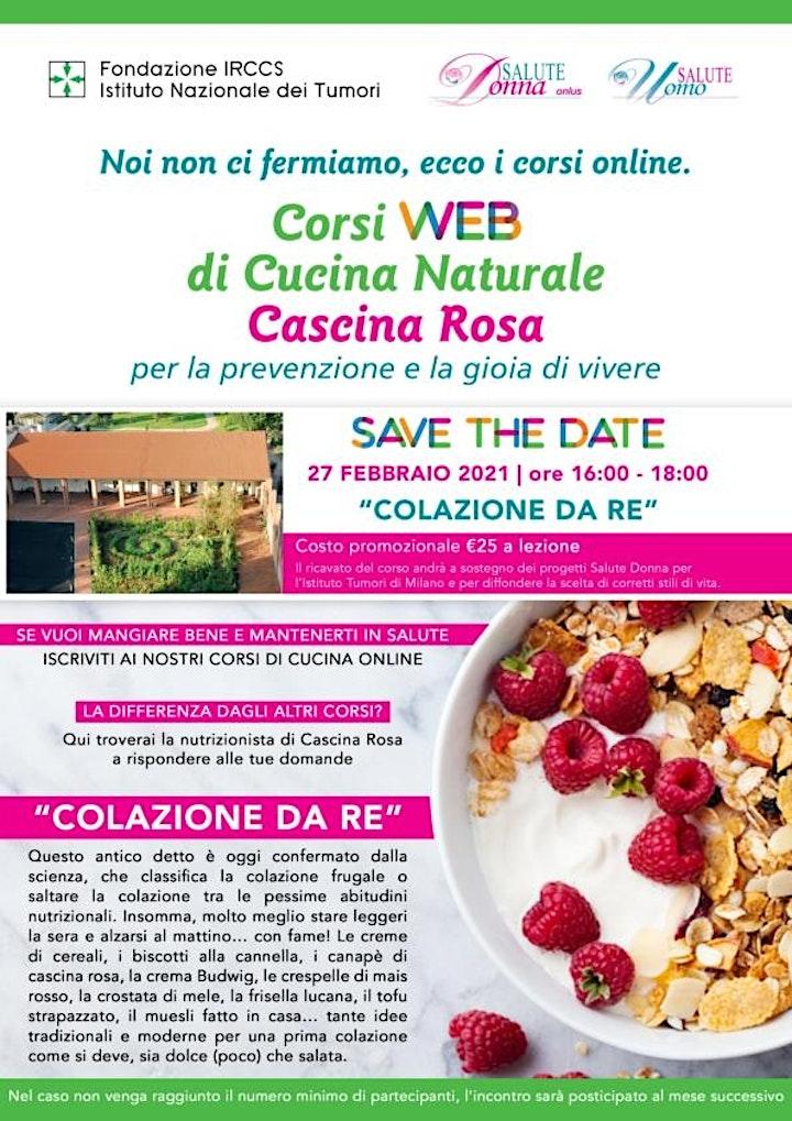 Immagine Corsi Web di Cucina Naturale - Cascina Rosa: Colazione da Re