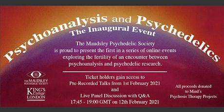 Psychedelics and Psychoanalysis: The Inaugural Event tickets