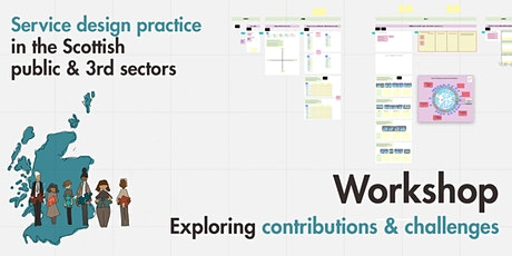 Service Design practice in the Scottish public and 3rd sectors: workshop 1 tickets