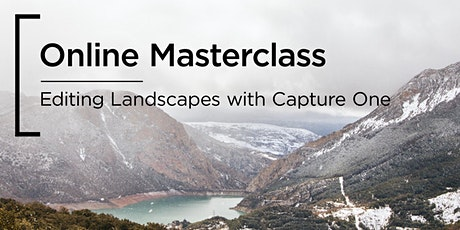 Online Masterclass | Editing Landscapes with Capture One tickets