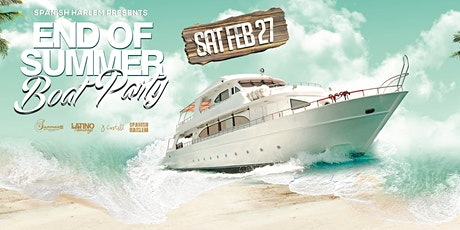 Spanish Harlem - End Of Summer Boat Party tickets