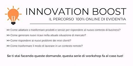 Innovation Boost biglietti