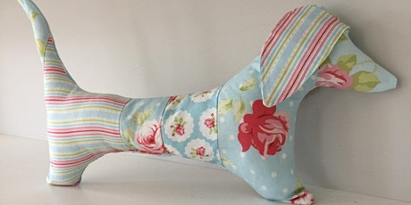 Make a  Dachshund cushion for your bed - Sewing for beginners tickets