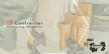Industry Certification: Contractor's Continuing Education tickets
