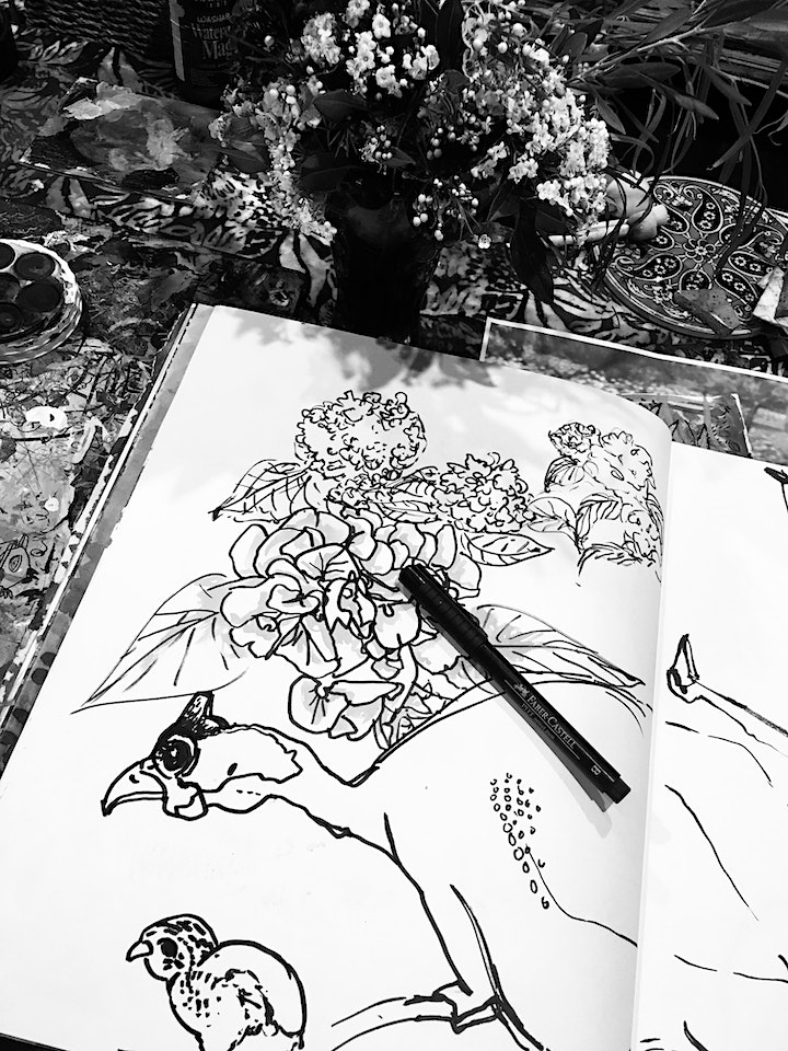 Draw from the HeART: Discover the Ease and Flow of Drawing Mindfully. image