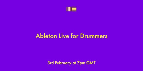 Ableton Live for Drummers biglietti