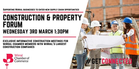 Construction & Property Forum tickets