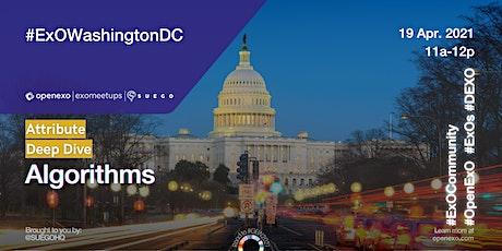 ExO Washington DC: Algorithms Deep Dive tickets