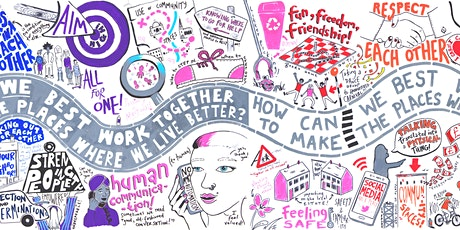 How can more people come together to make local places better? tickets
