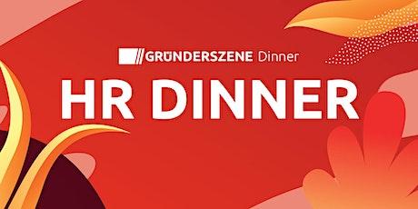 Gründerszene HR Dinner München - 20.07.21 Tickets