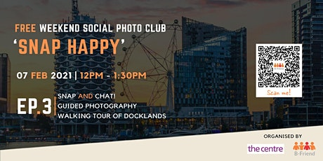 Docklands Photo Walking Tour and BYO Picnic tickets