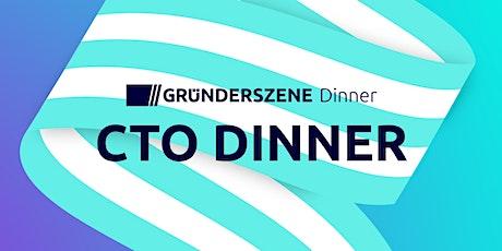 Gründerszene CTO Dinner - 4.11.21 Tickets