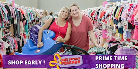 Prime time shopping $12 Friday April 23rd At 12 pm tickets