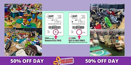 FREE General Admission 50% off Day- Sunday April 25th- Walk In's welcome tickets