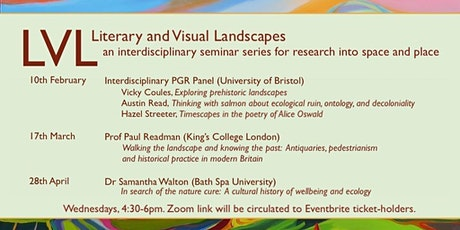 Literary and Visual Landscapes Seminars TB2 tickets