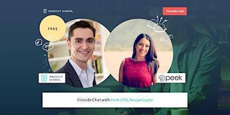 Fireside Chat with Peek CPO, Navya Rehani Gupta tickets
