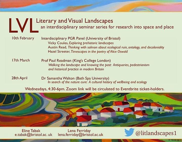 Literary and Visual Landscapes Seminars TB2 image