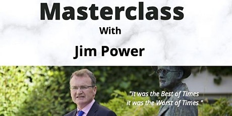 IMCA Masterclass with Jim Power tickets