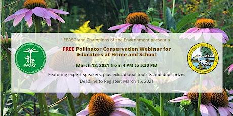 Pollinator Conservation Webinar tickets