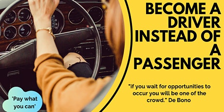 Become a driver instead of a passenger tickets