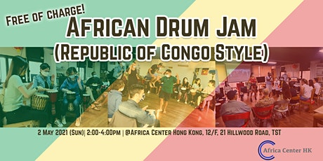 African Drum Jam (Republic of Congo Style) tickets