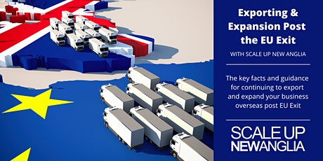 Exporting and Expansion Post the EU Exit (SUNA Masterclass) tickets